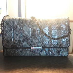 Judith Ripka Python Embossed Leather crossbody bag